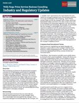Wells Fargo Prime Quarterly Newsletter - Iron Cove PEO Consulting