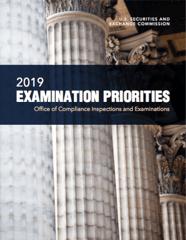 2019 SEC OCIE Examination Priorities